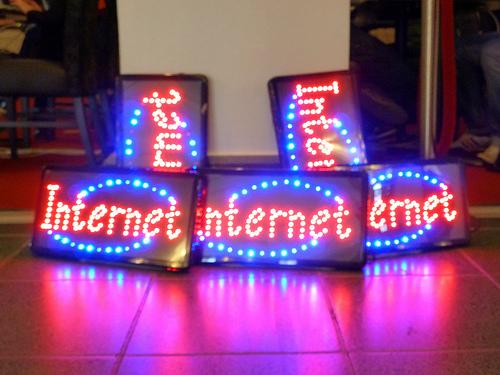 Internet sebesség teszt