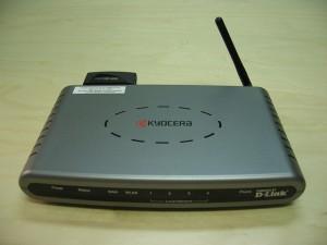 A wifirouter segítségével vezeték nélküli hálózatot tudunk kialakítani.